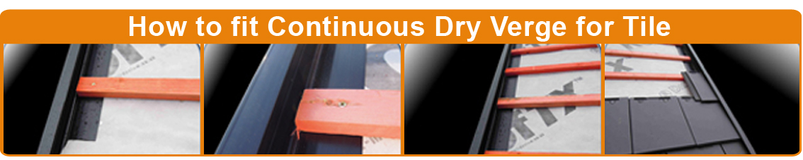 Fitting Instructions For Continuous Dry Verge