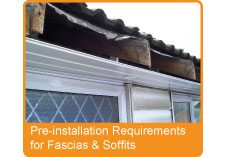 Pre-installation Requirements for Fascias & Soffits