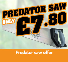 Predator saw offer