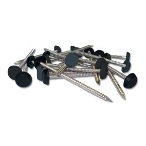 Dark Grey Plastic Headed Pins & Nails