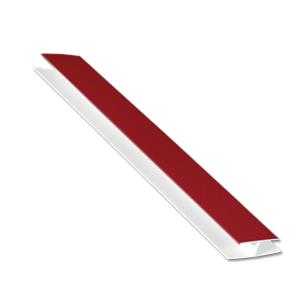 Hollow Soffit H-Trim Wine Red