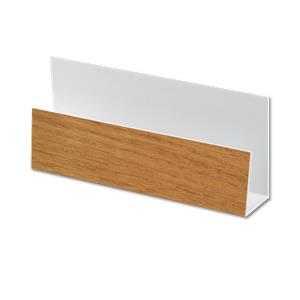 U-Channel Cladding Trim Irish Oak