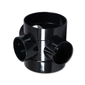 Short Boss Pipe Black