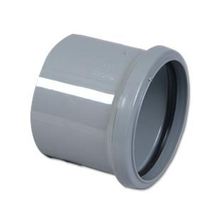 Pipe Coupling Single Socket Grey