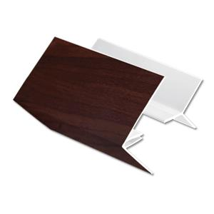 Rosewood 2-Part External Corner Cladding Trim