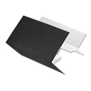 Black 2-Part External Corner Cladding Trim