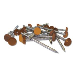 Tan Plastic Headed Pins & Nails